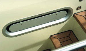 Air Suction Ventilator (visible screwed / blank anodised)