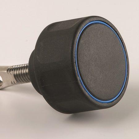 Portlight Knob Black, complete