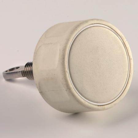 Portlight Knob White, complete